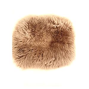 Grey Round Sheepskin Rug